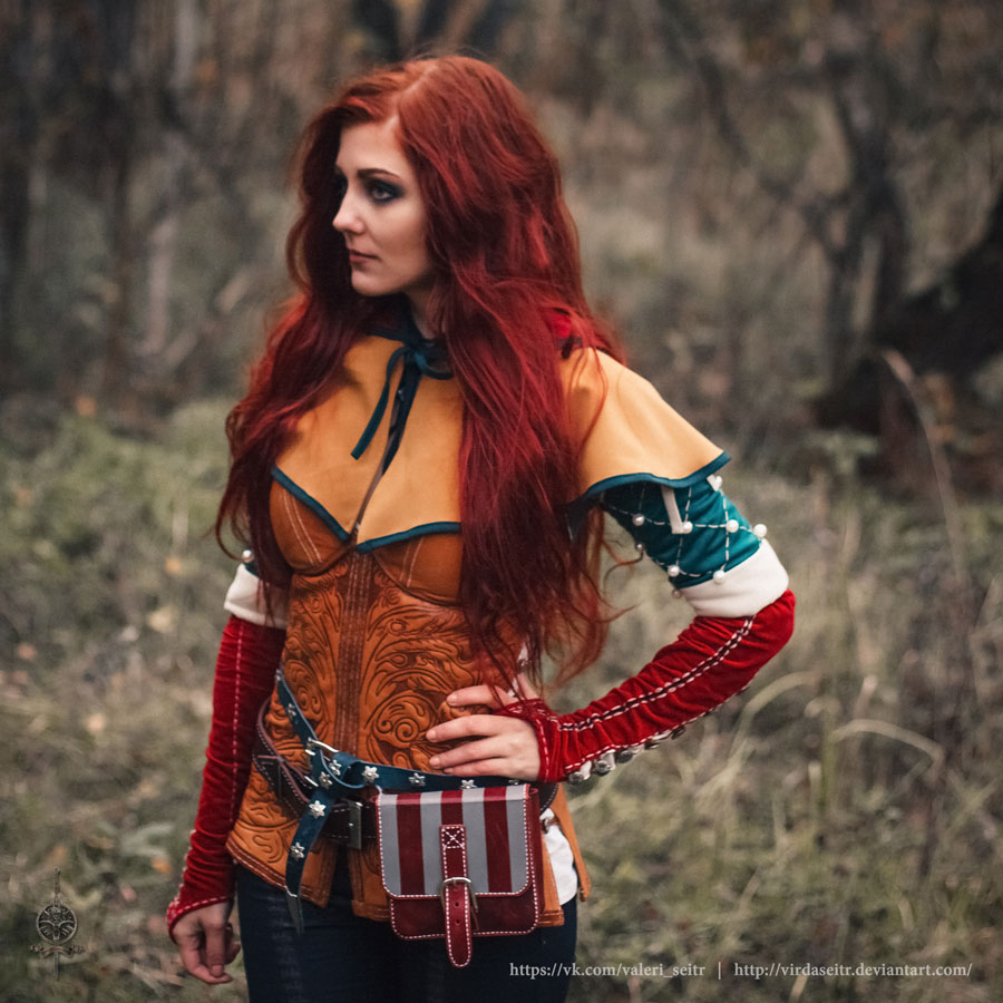 Triss Merigold Cosplay Dress