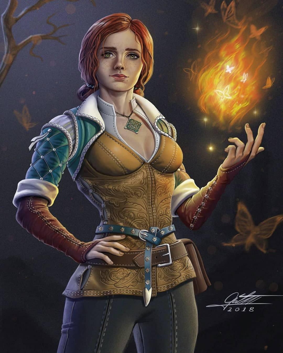 Triss Merigold Fan Art