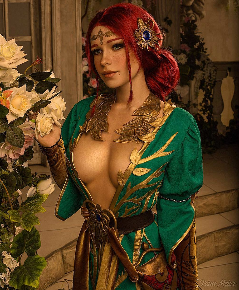Triss Merigold Hot Boobs