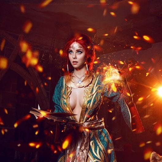 Triss Merigold Hot Photoshoot