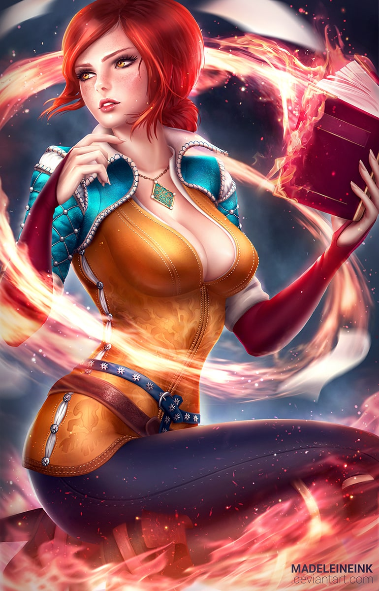 Triss Merigold Sexy Boobs