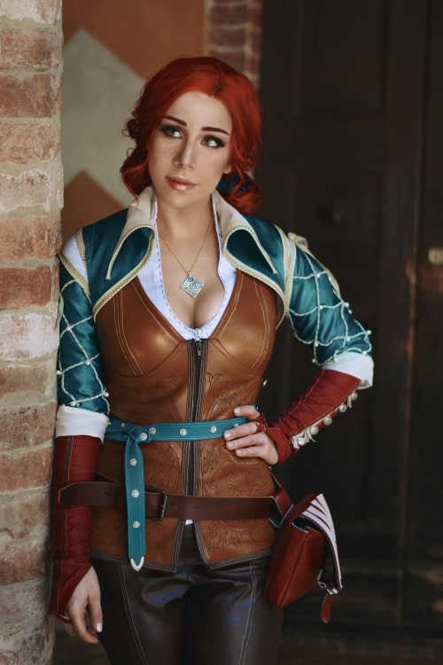 Triss Merigold Witcher Cosplay