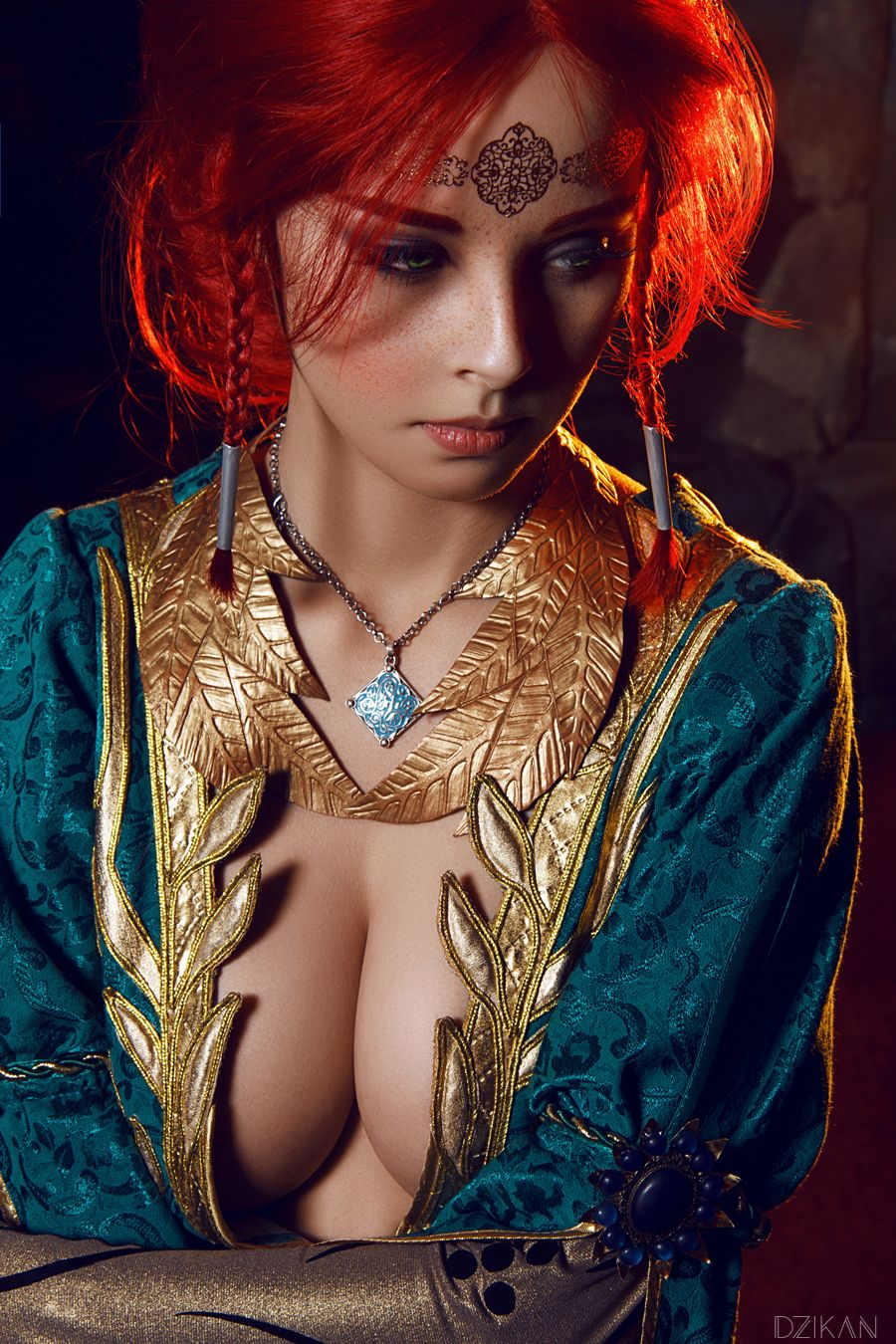 Triss Merigold on Brown Hair