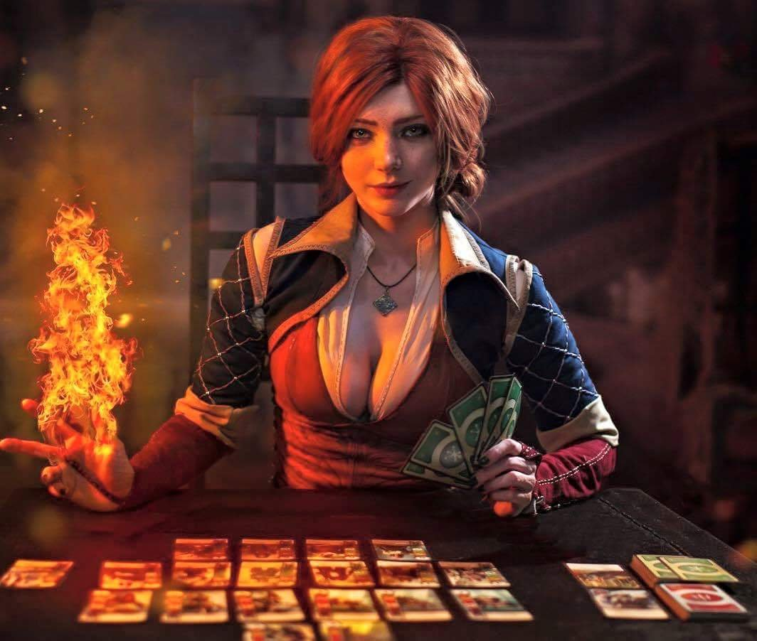 Triss Merigold on Cosplay