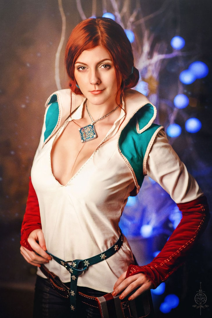 Triss Merigold on Photoshoot