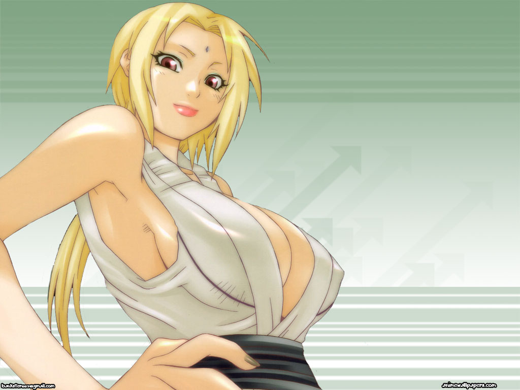 Tsunade Senju beautiful boobs