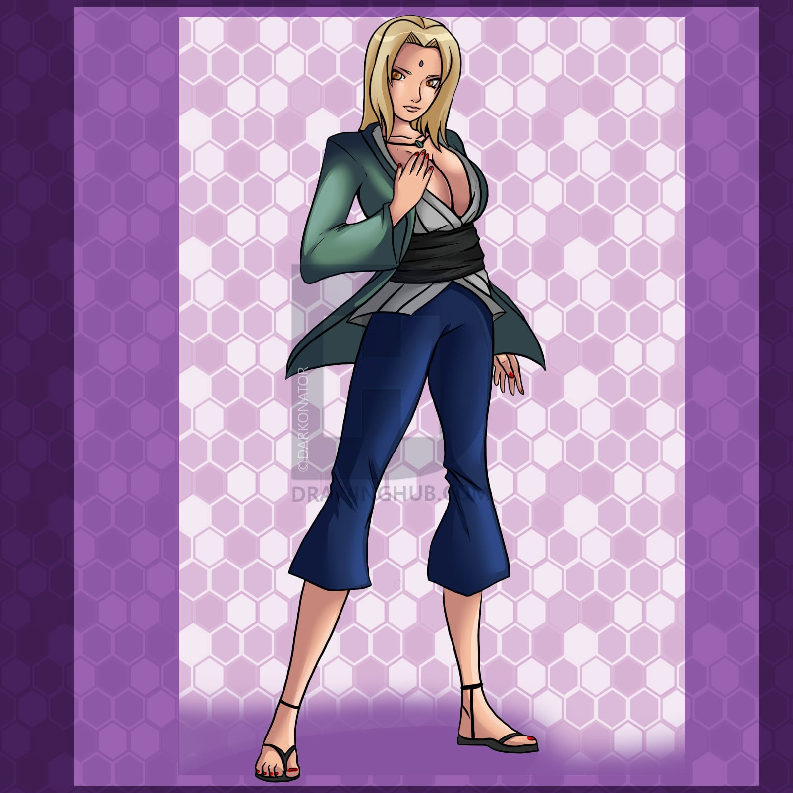 Tsunade Senju beautiful