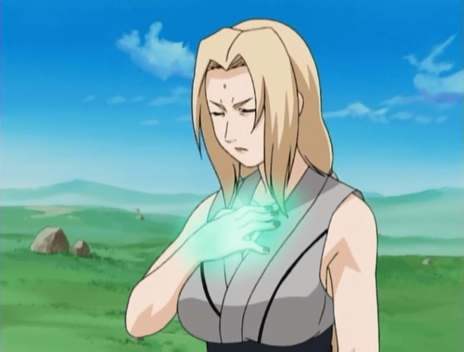 Tsunade Senju blonde women
