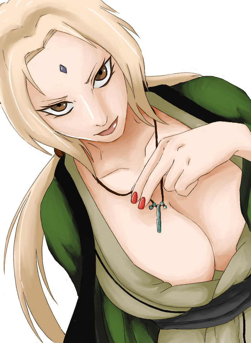 Tsunade Senju boobs (2)
