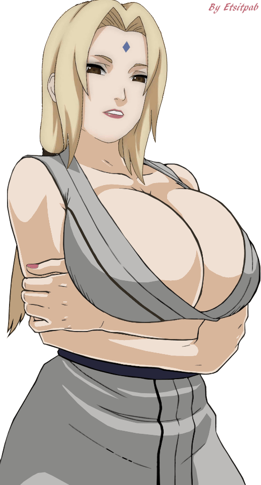 Tsunade Senju boobs
