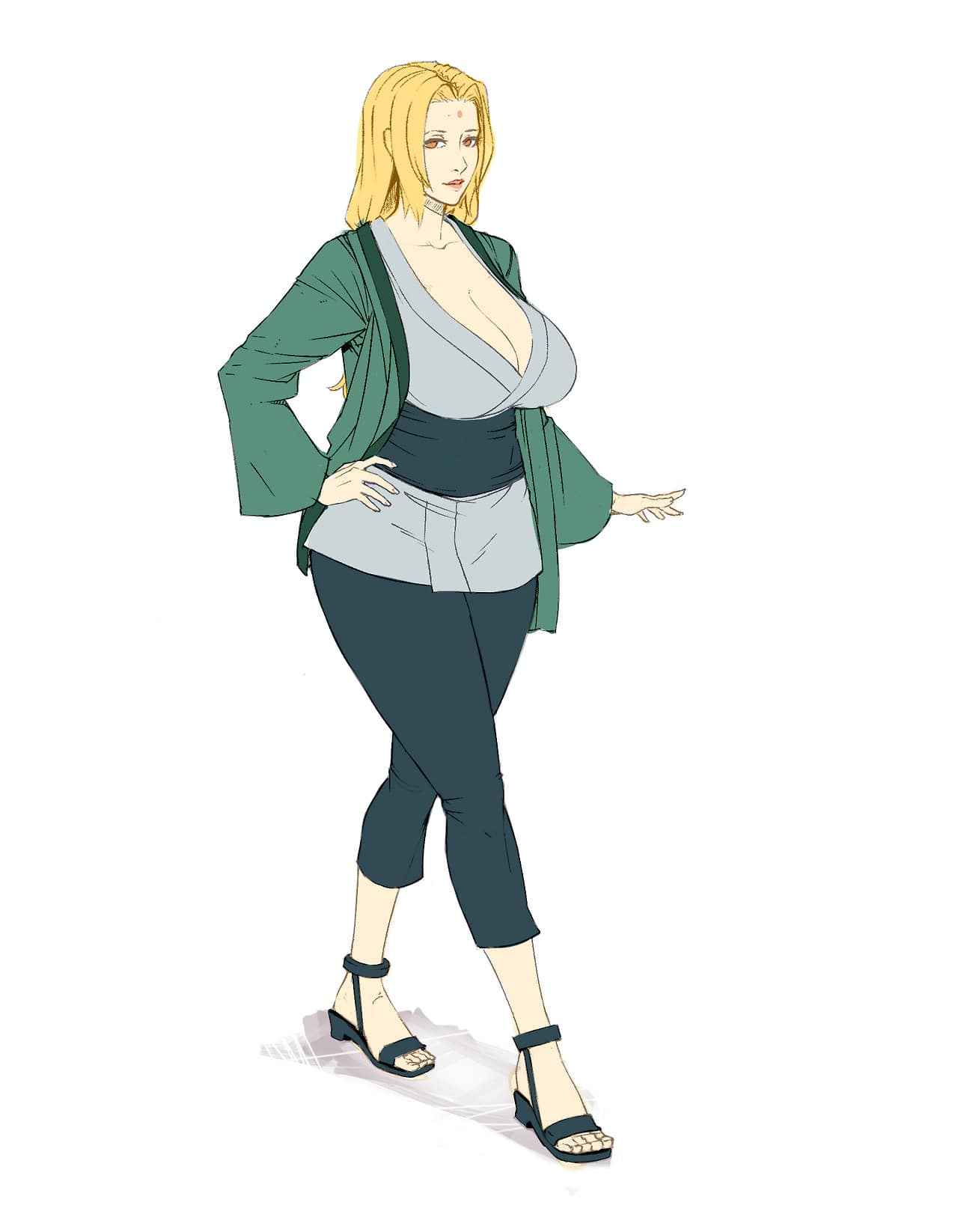 Tsunade Senju fat women