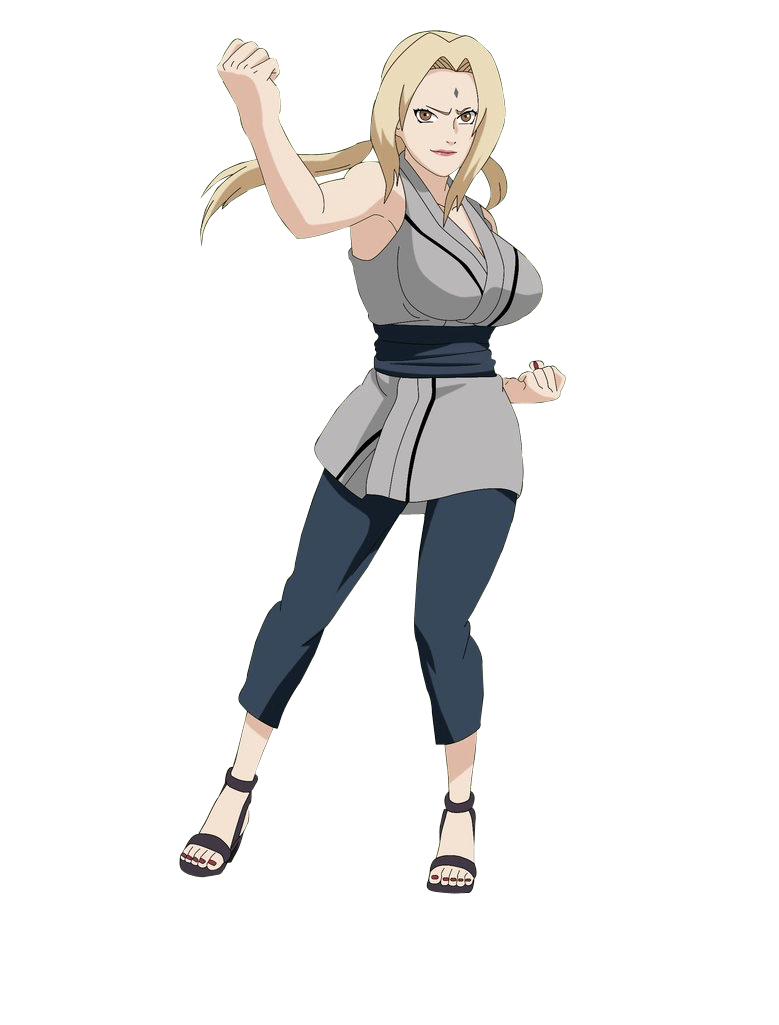 Tsunade Senju fighter