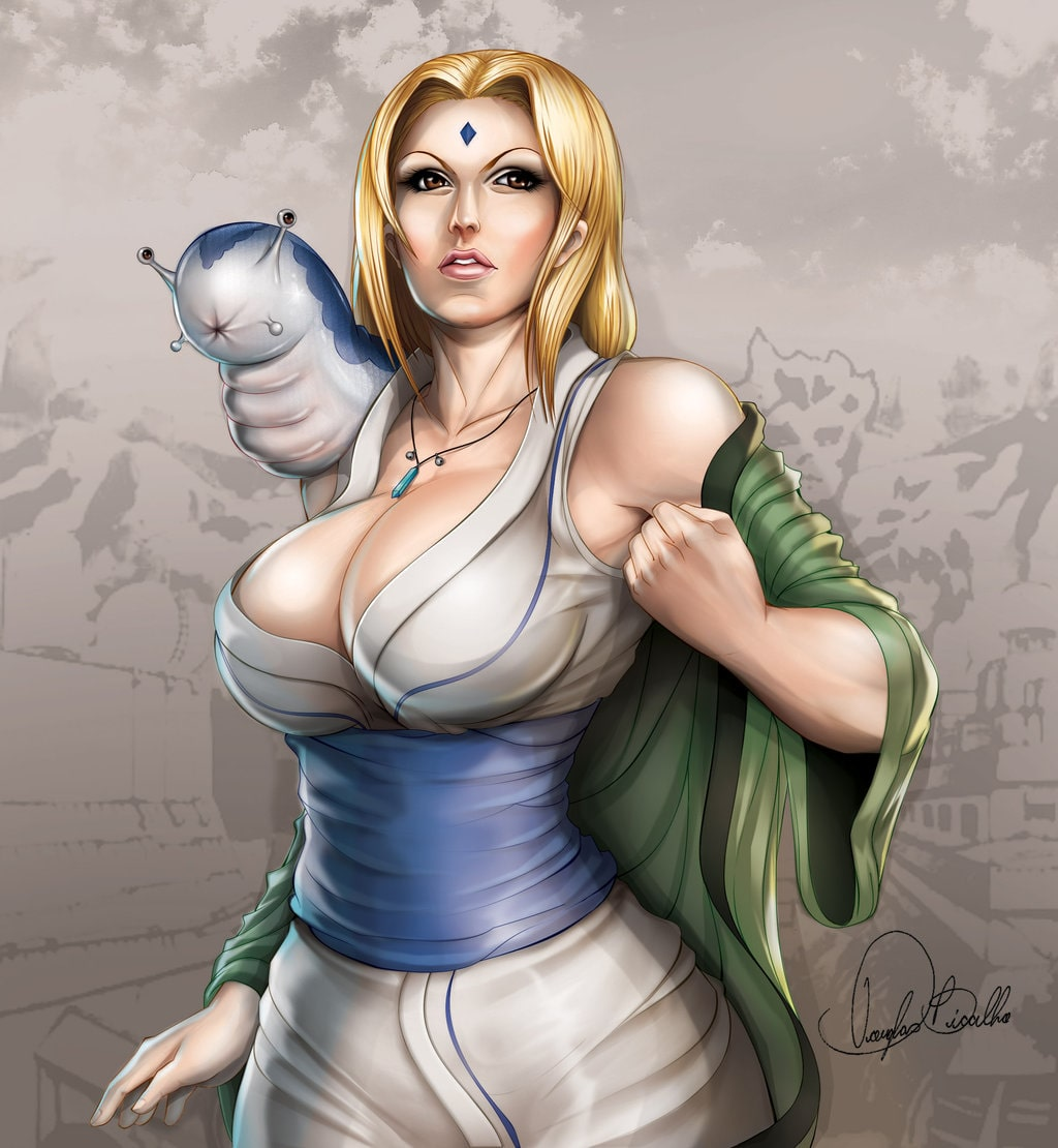 Tsunade Senju hot and sexy (2)