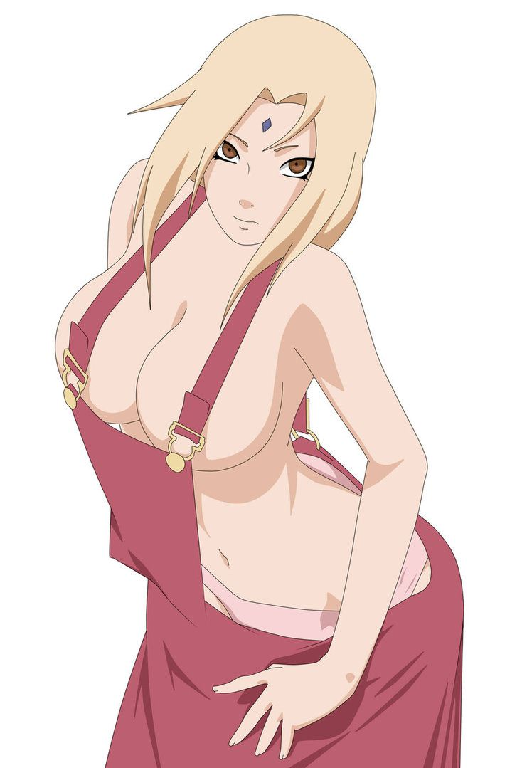Tsunade Senju hot boobs