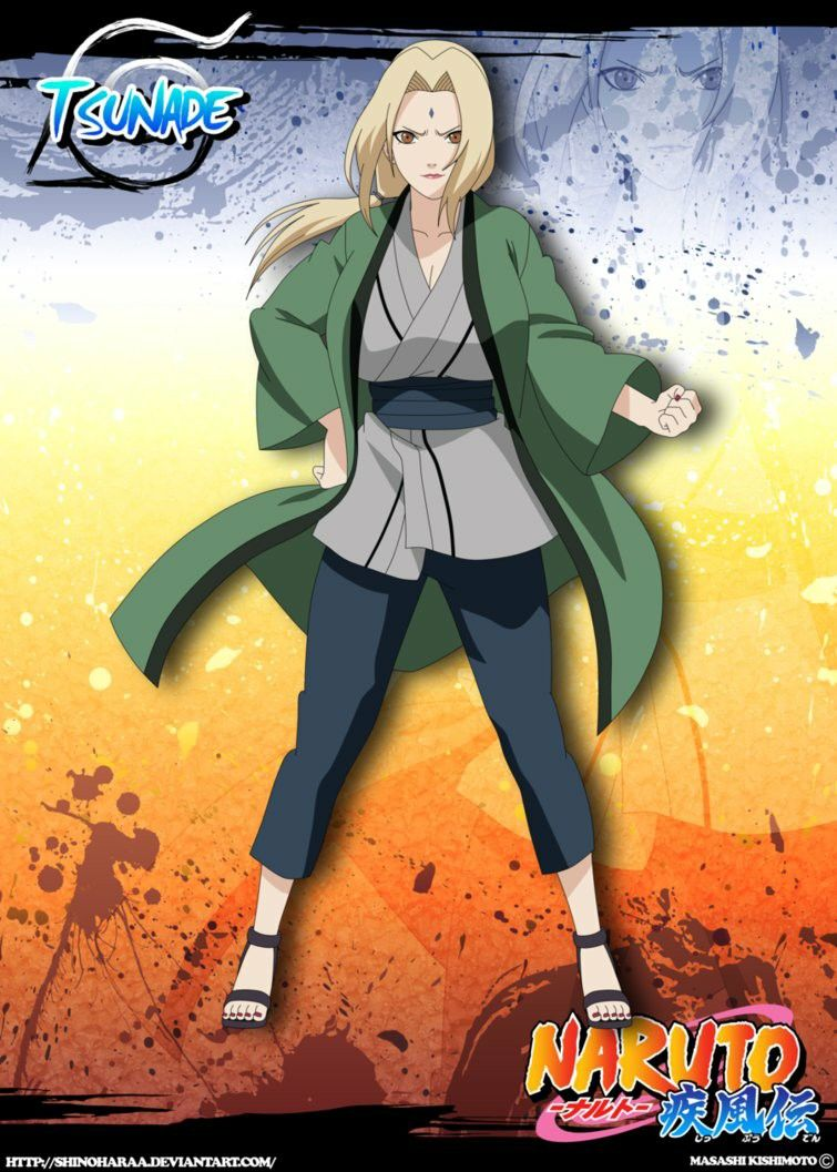 Tsunade Senju hot green