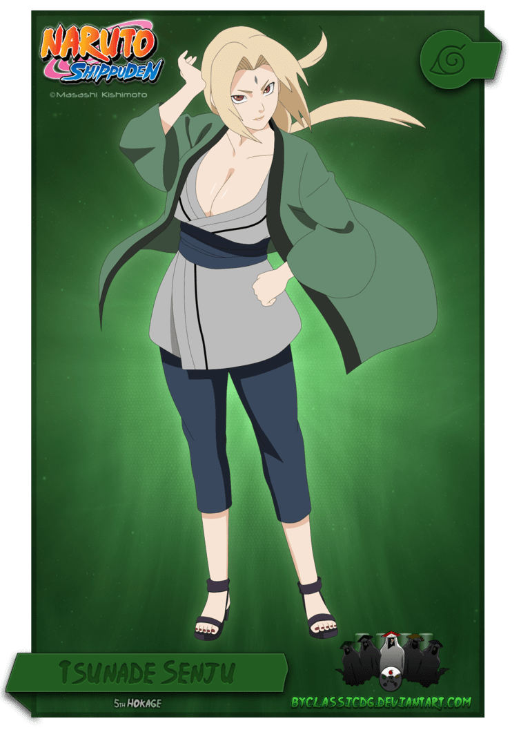 Tsunade Senju very beautiful