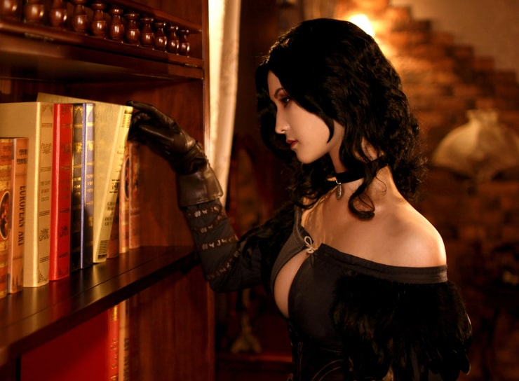 Yennefer on Library
