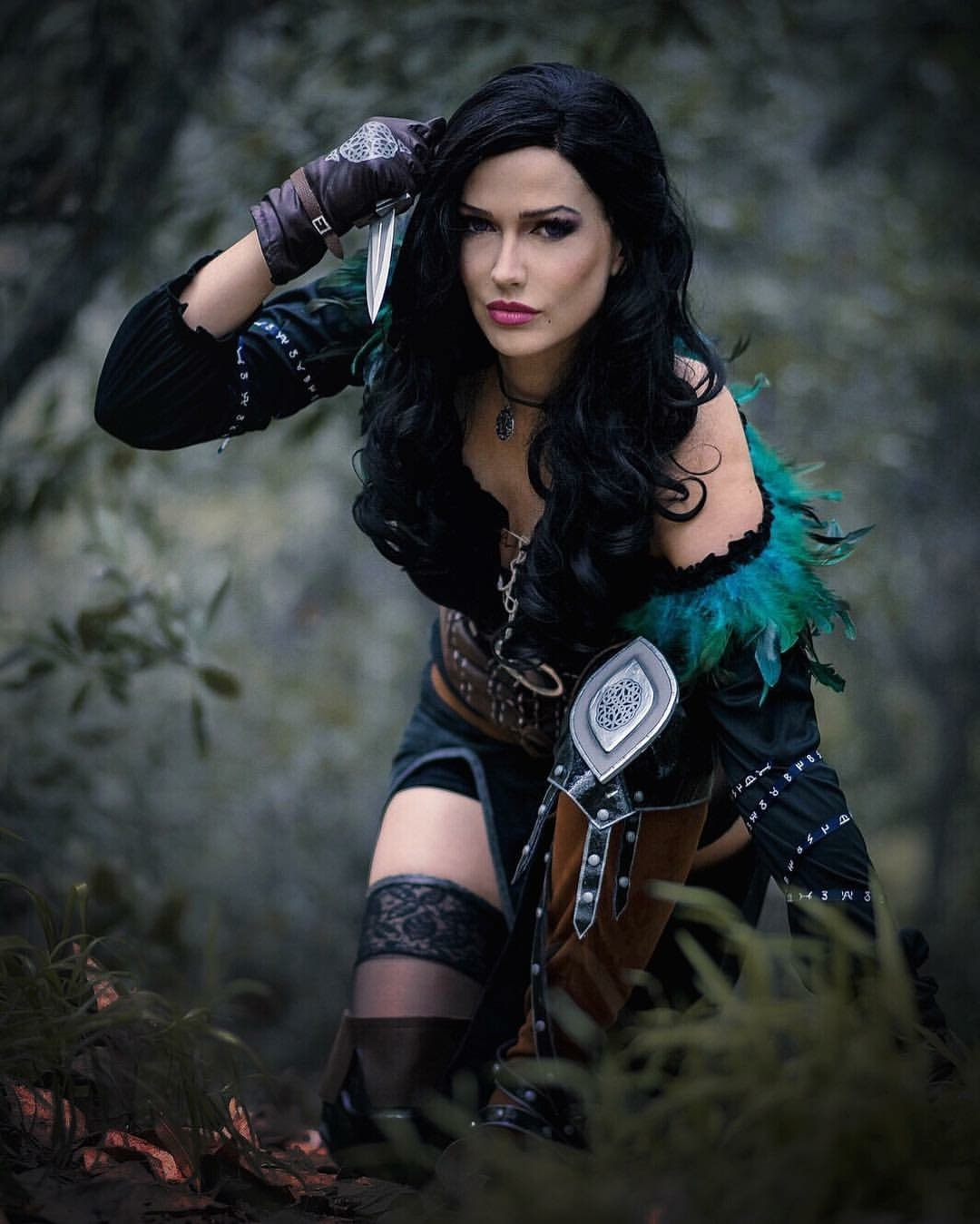 Yennefer with Knife