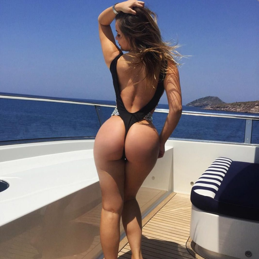 The Girl With The Biggest Butt Ever Goes To Pierre Moran
