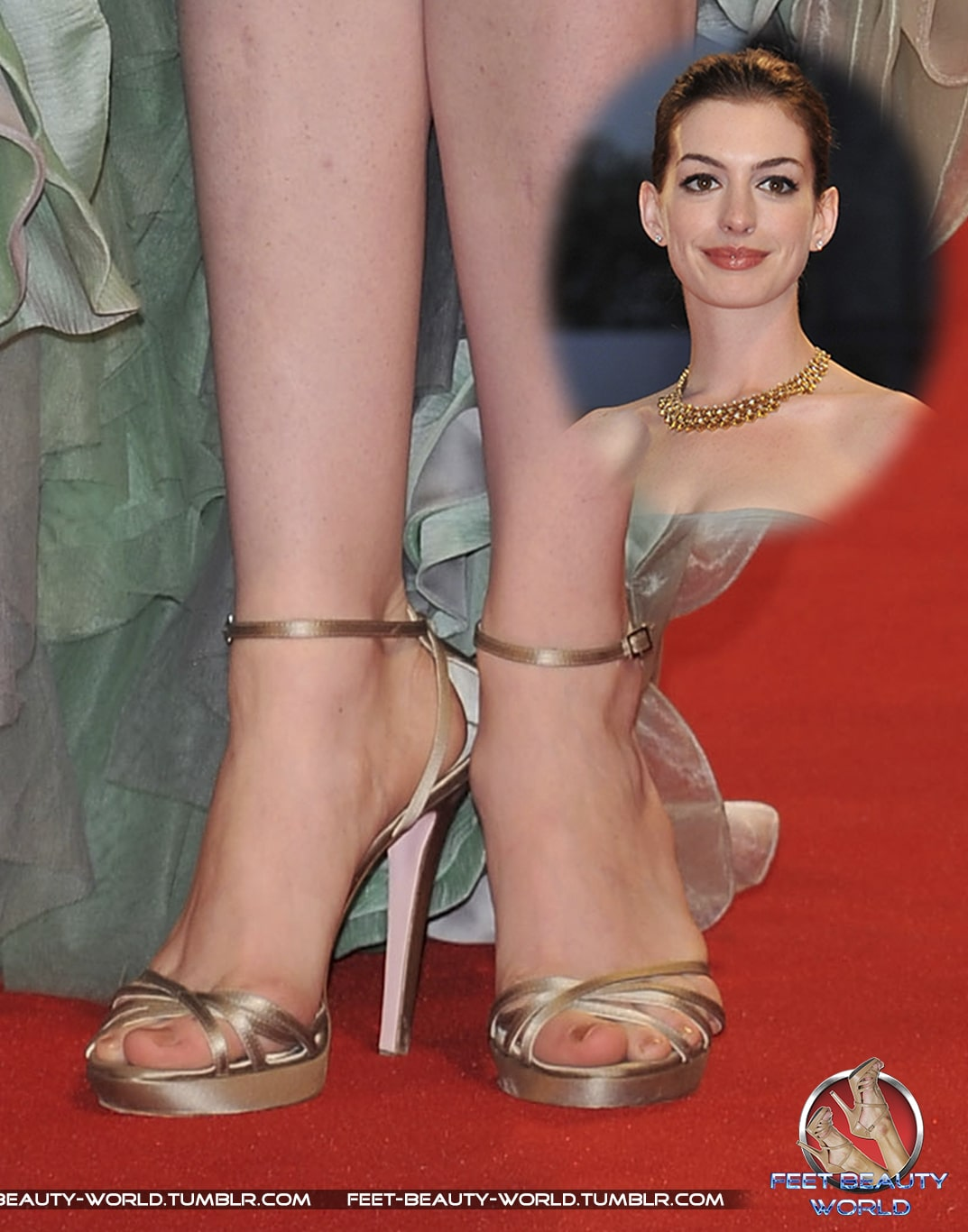 anne hathaway toes