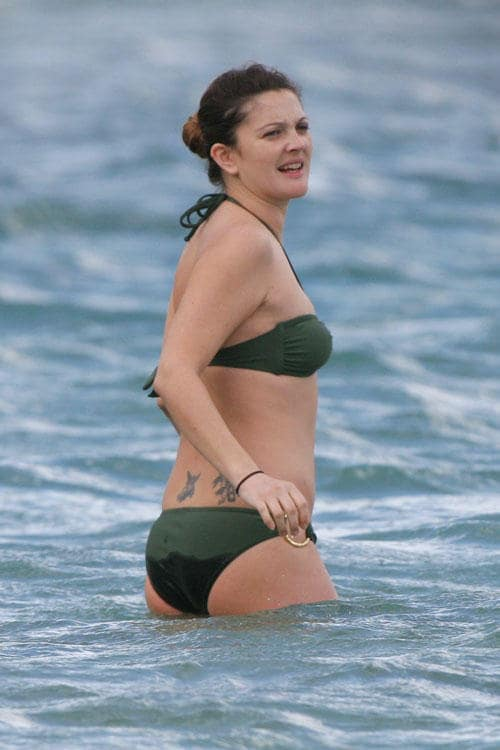 drew barrymore ass hot