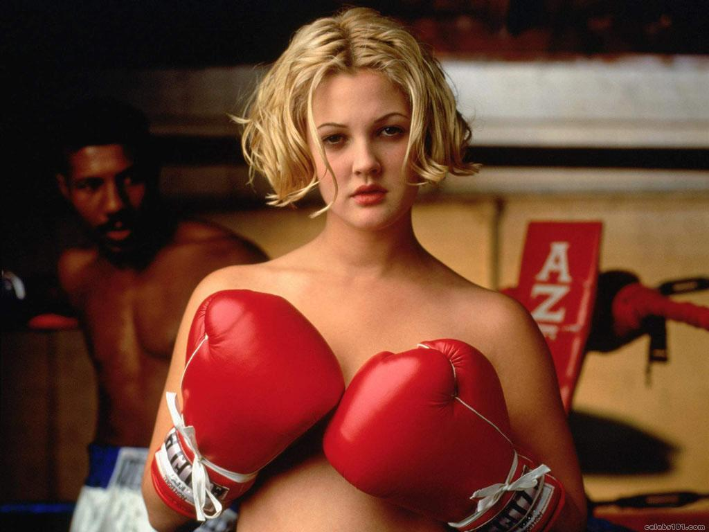 drew barrymore sexy cleavages