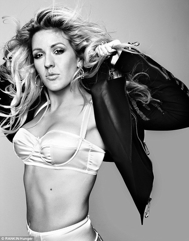 Sexy ellie goulding fake nude pics something is