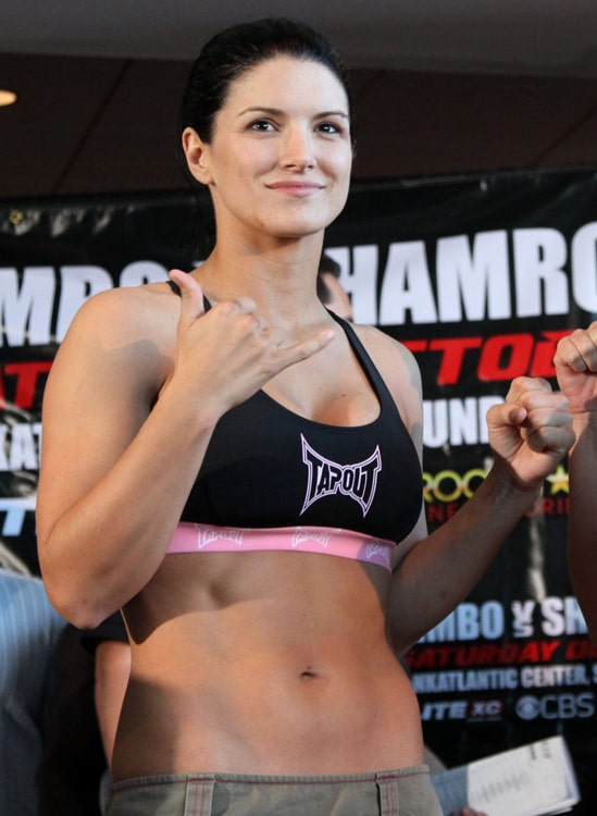 gina carano beautiful pics