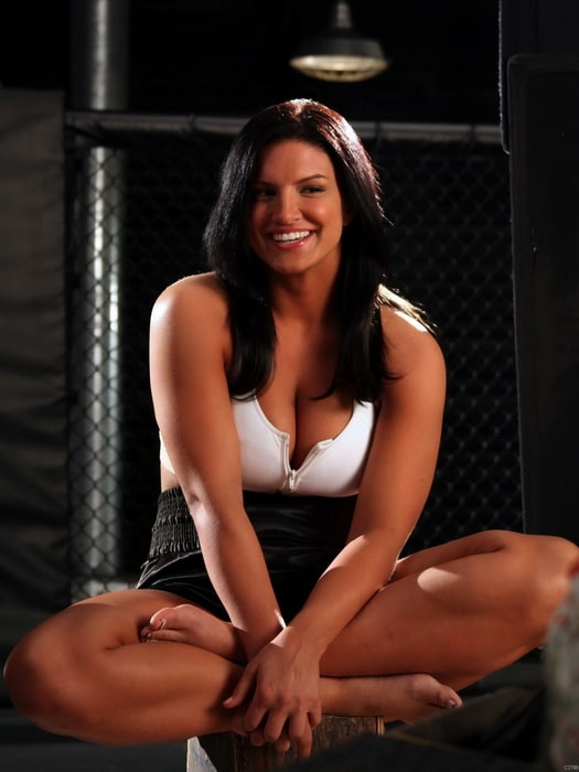 gina carano big boobs