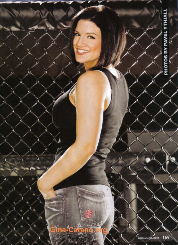 gina carano big butt