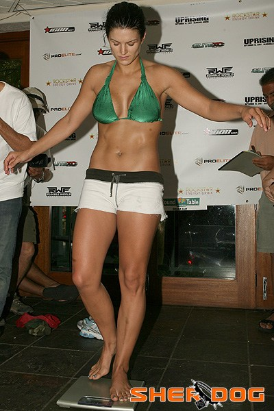 gina carano feet pictures
