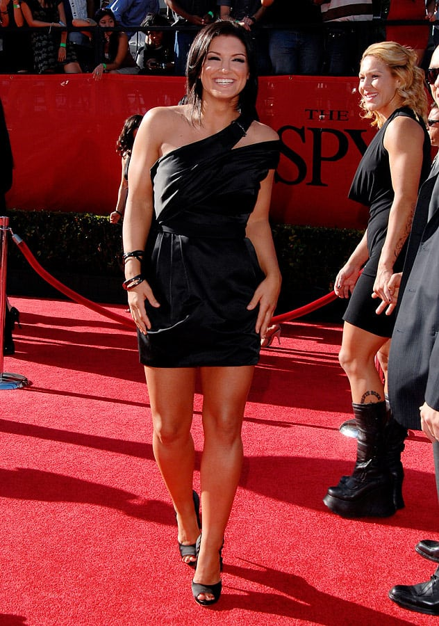 gina carano sexy feet pictures