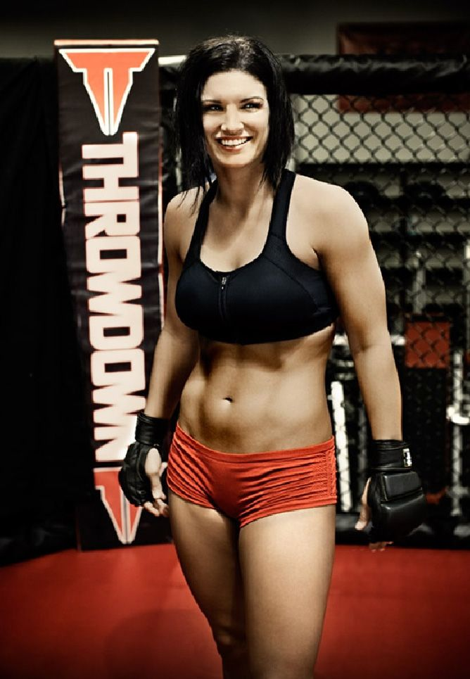 gina carano thighs photo