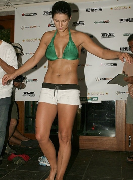 gina carano thighs pictures