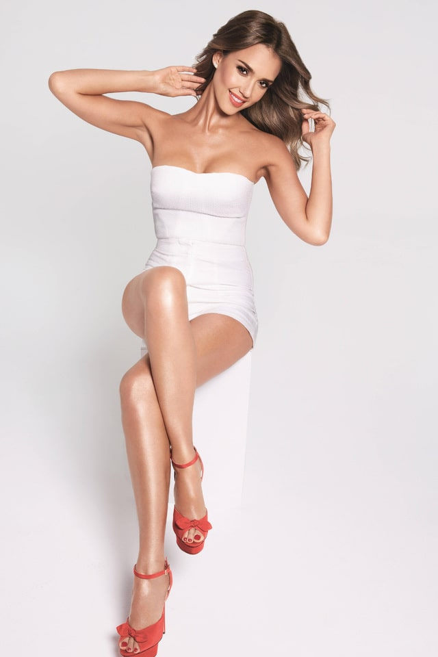 jessica abla white dress hot
