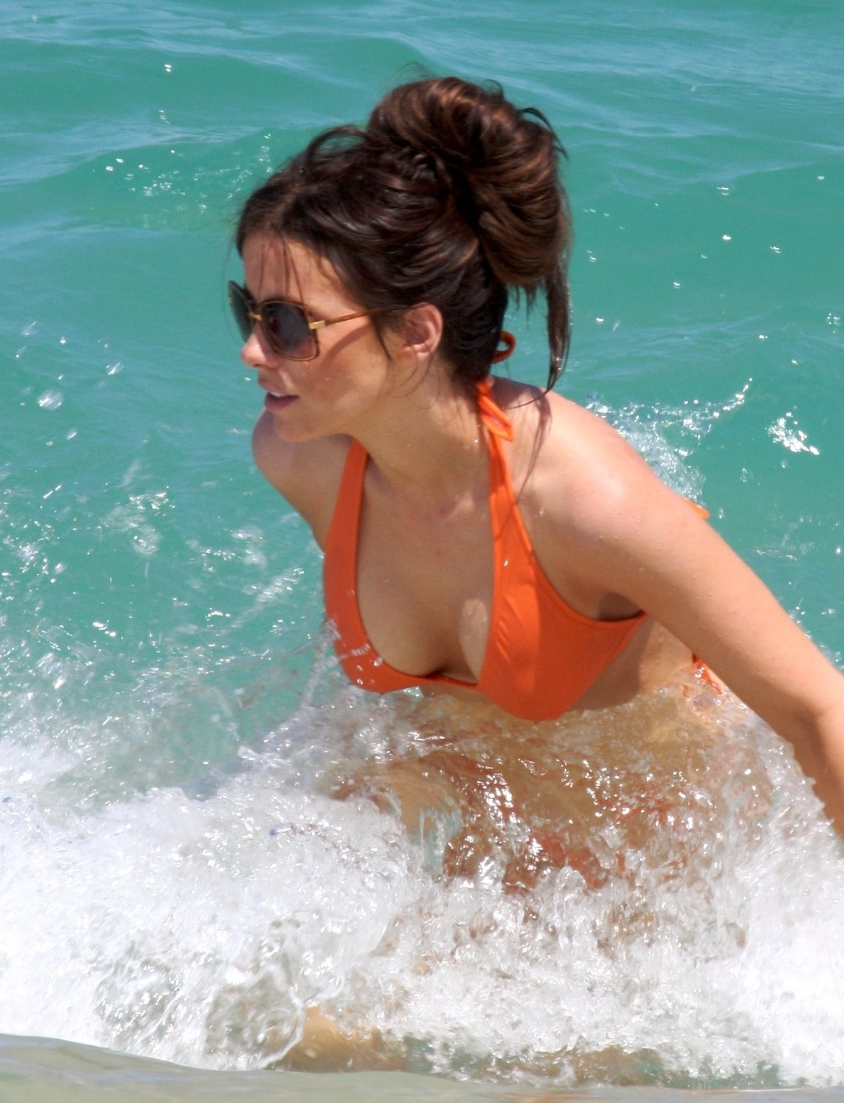 kate beckinsale swimsuit
