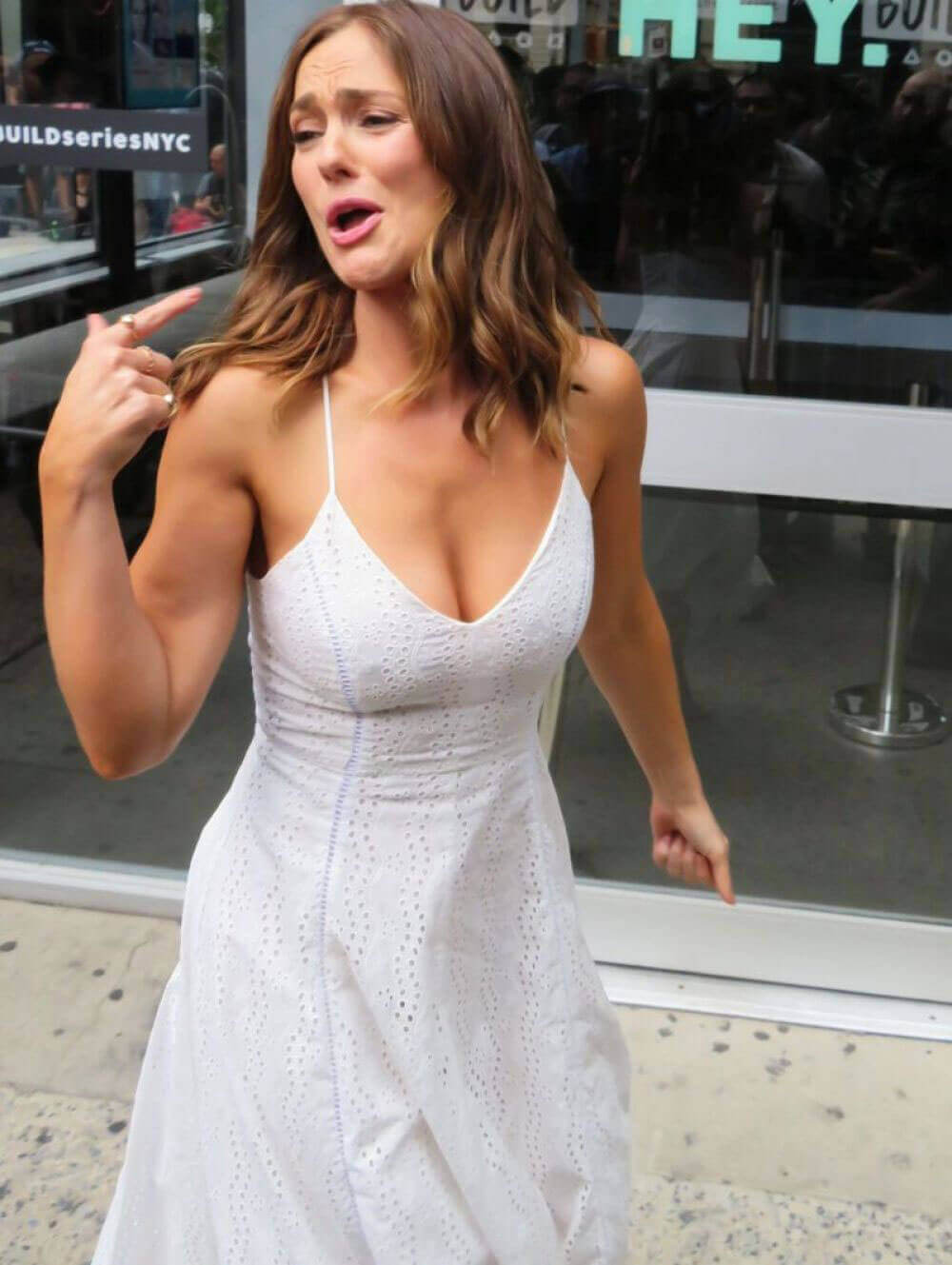 minka kelly aww