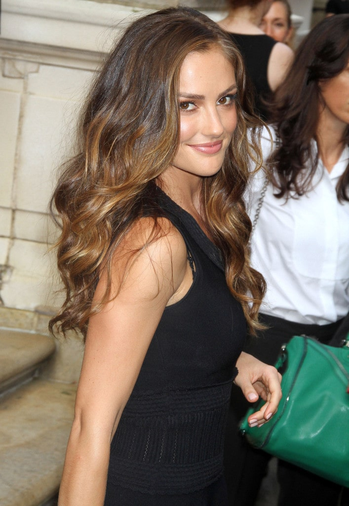 minka kelly nice hair