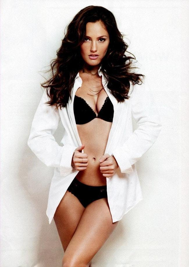 minka kelly underwear