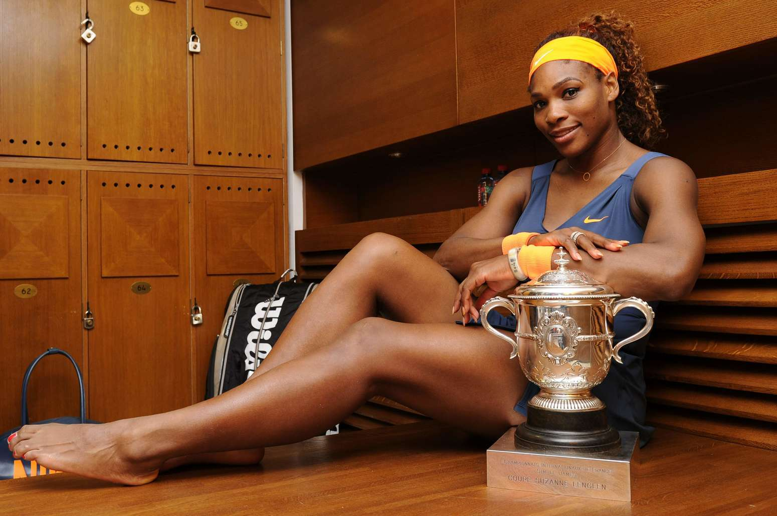 serena williams bare feet pictures