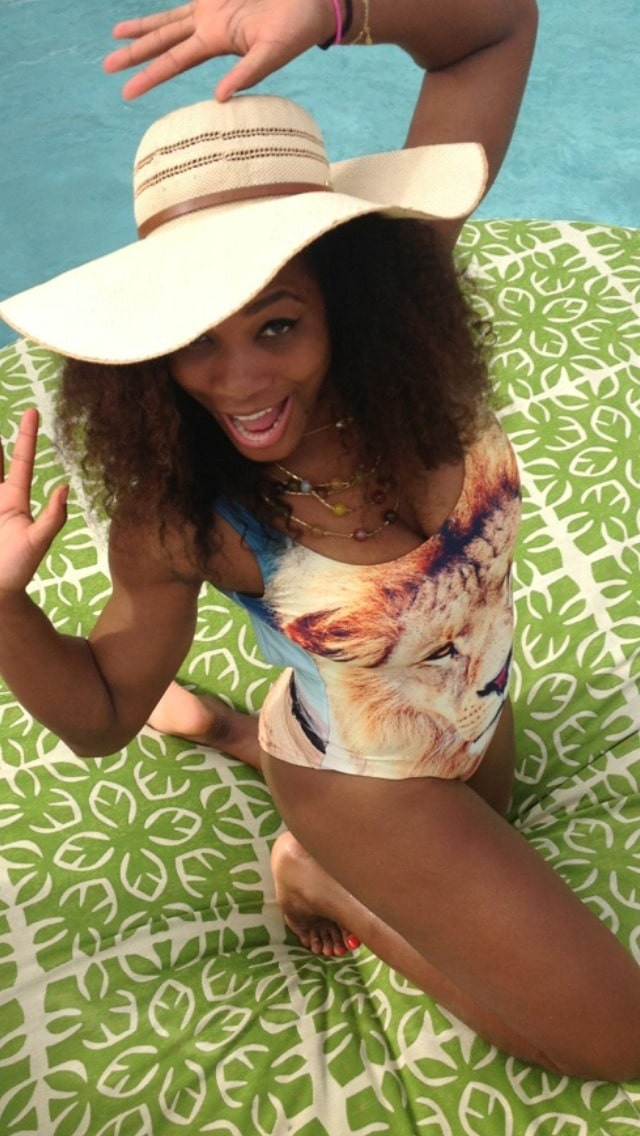 serena williams hot bare feet pictures