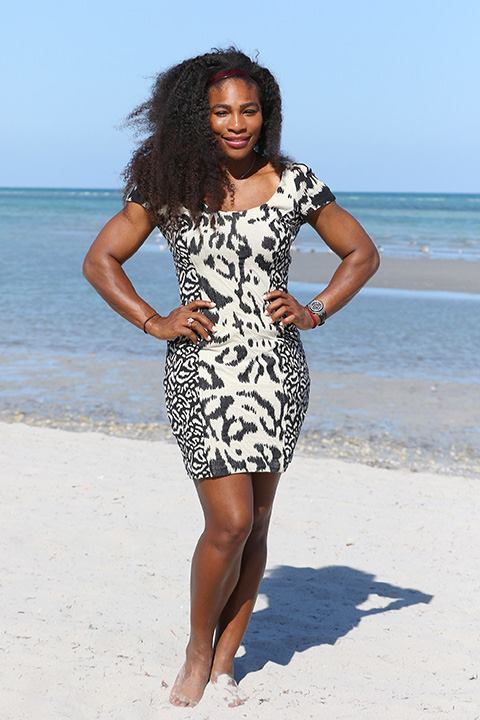 serena williams sexy bare feet
