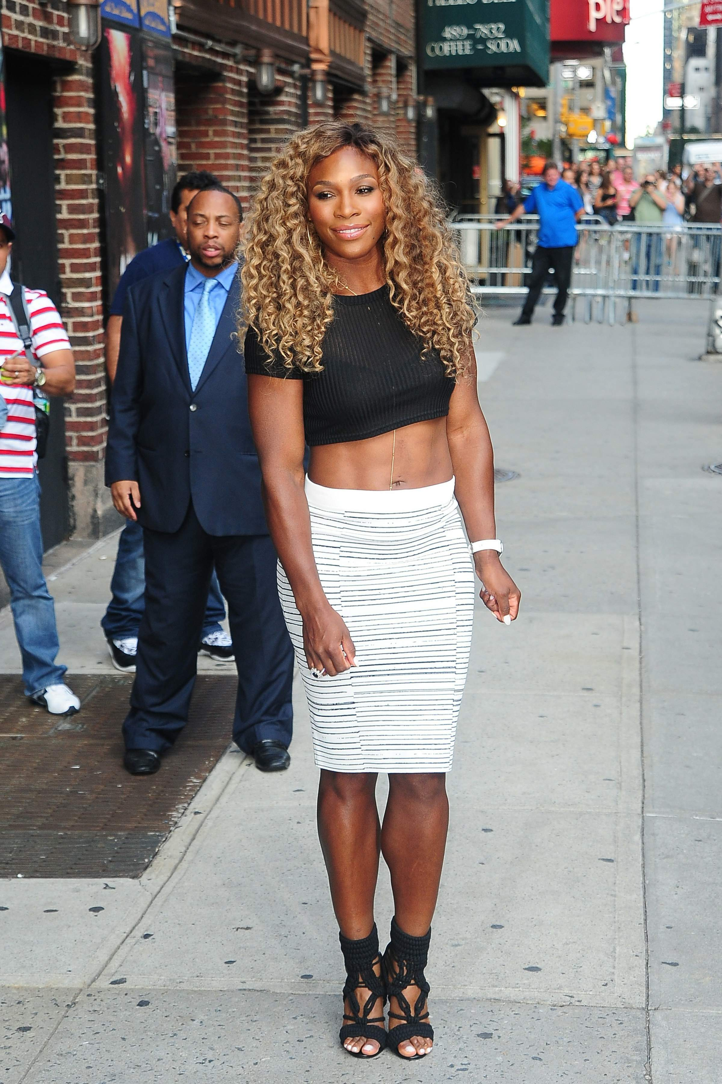 serena williams sexy feet