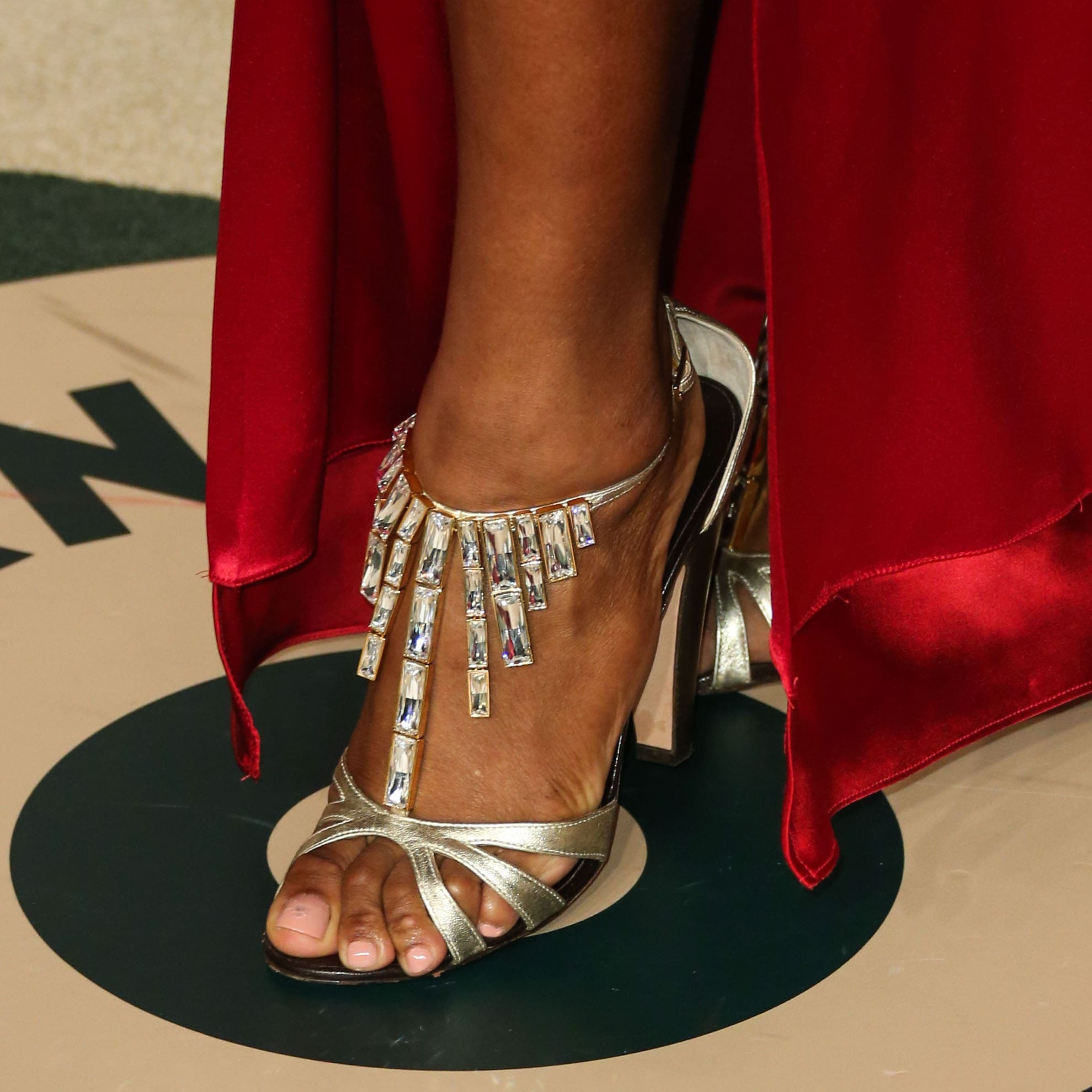 serena williams sexy toes nails