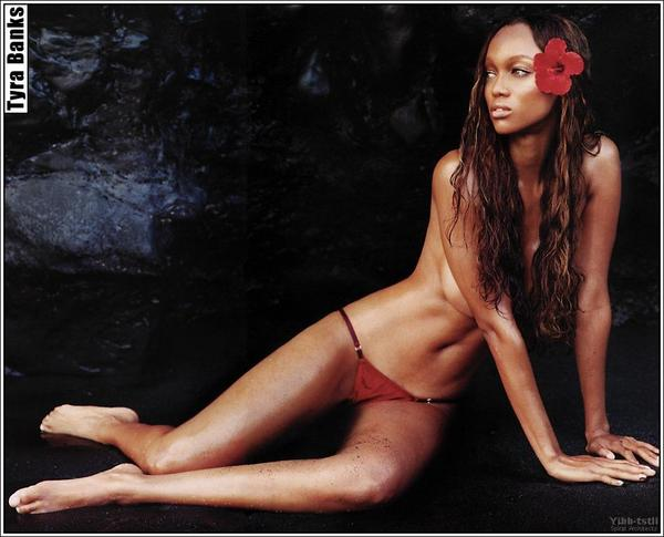 tyra banks awesome bare feet pictures