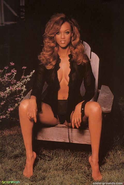 tyra banks hot bare feet