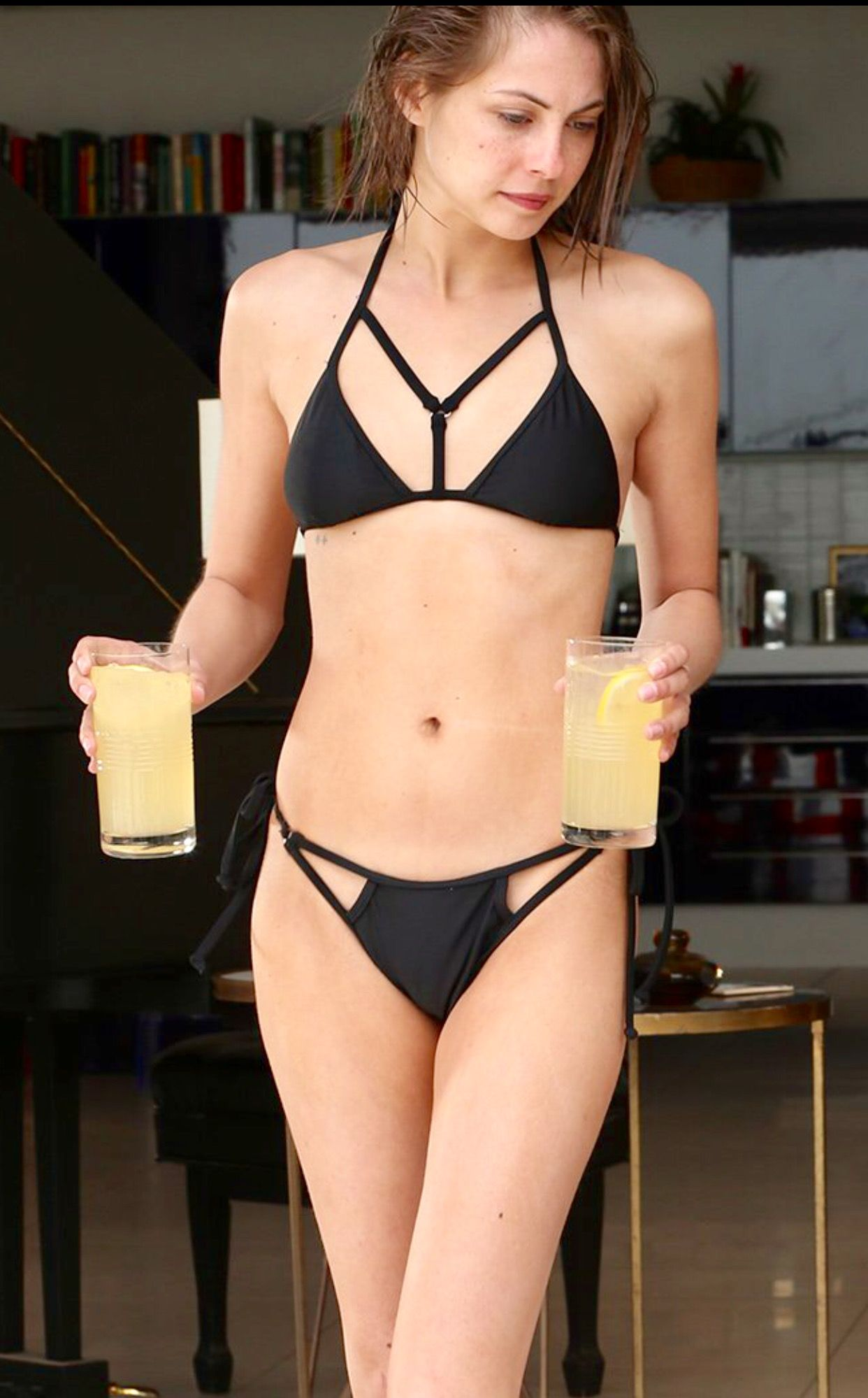 willa holland awesome bikini