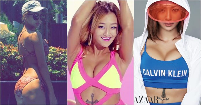 49 Hot Pictures Of Hyorin Which Are Way Too Sexy