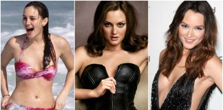 49 Hot Pictures Of Leighton Meester Expose Her Sexy Hour-glass Figure