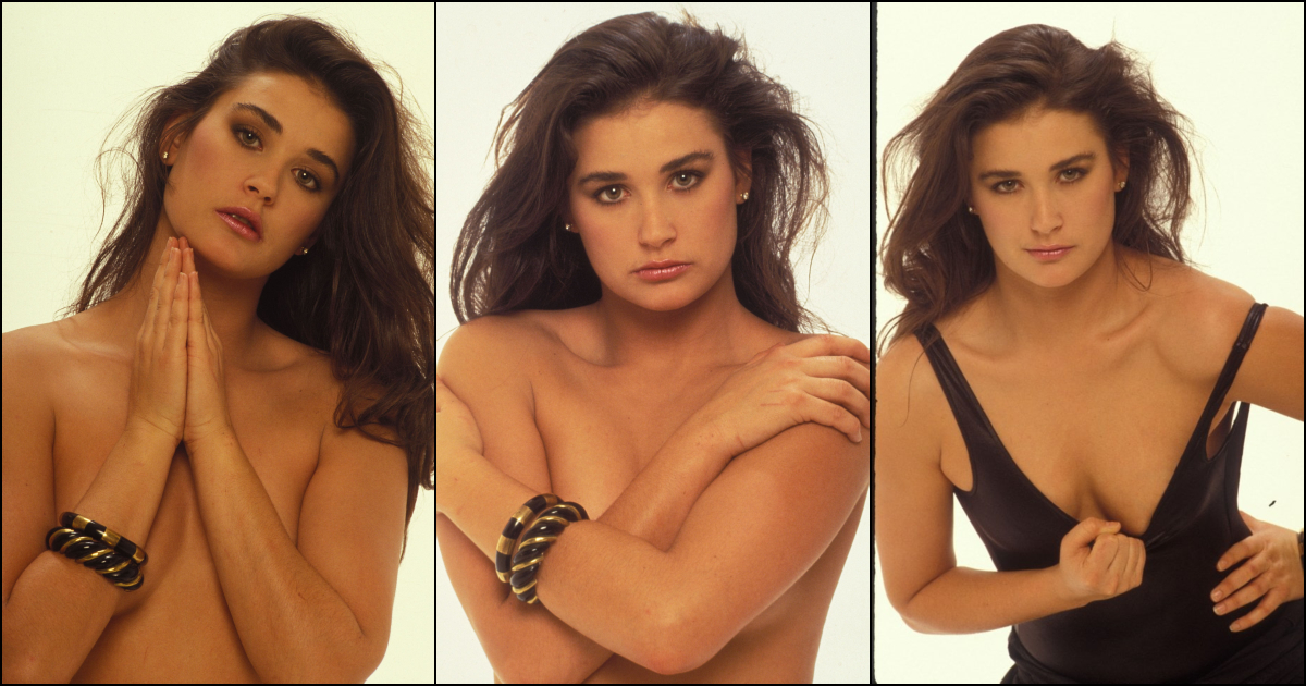 Paparazzi Sexy 34. Demi Moore  naked (82 fotos), Instagram, see through